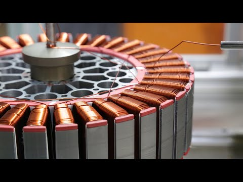 Impressive Motor Winidng New Technology &  Electric Motor Winding Technology
