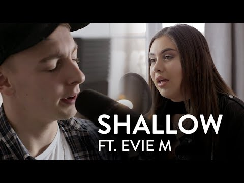 A Star Is Born (Lady Gaga & Bradley Cooper) - Shallow | Cover by Brad Matthews Ft. EvieM