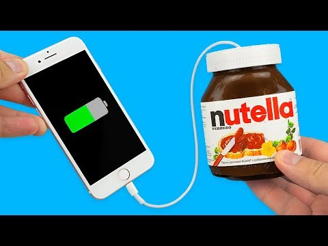 12 SIMPLE LIFE HACKS WITH NUTELLA