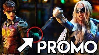 Titans Season 1 Episode 1 Promo - Robin vs Dove FIGHT Scene Explained