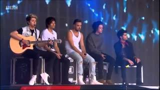 One Direction - Little Things (BBC Radio 1's Big Weekend 2014)