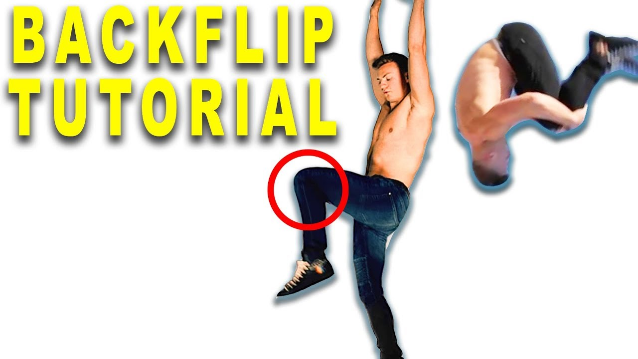 HOW TO BACKFLIP IN 2 MINUTES!! Tricking Tutorial w/ Jack Payne | DANCE TUTORIALS LIVE