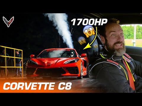 1700hp na Corvette