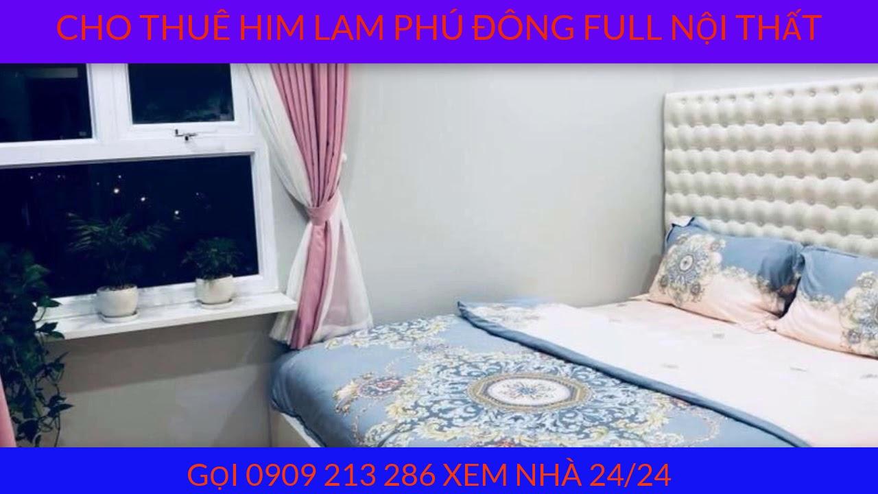 Cho thuê căn hộ chung cư Him Lam Phú Đông Full nội thất