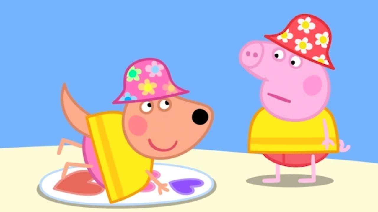 Peppa Pig Português Brasil ⭐️ Surfando ⭐️ Desenhos Animados