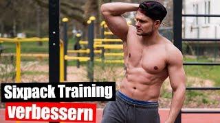 Effektive Sixpack Übungen die keiner kennt! Einfach das Bauchmuskeltraining verbessern