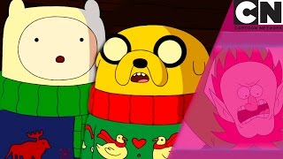 Finn & Jake Reacting To Christmas On Cartoon Network