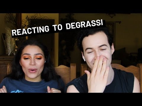 REACTING TO OUR DEGRASSI EPISODES | Tristan And Tori | Lyle Lettau And Alexa Rose Steele