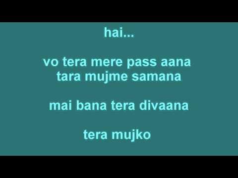 Delusive- akhiyan nu chain na aave (lyrics)