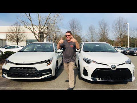 2020 Corolla vs 2019 Corolla: you decide who wins!