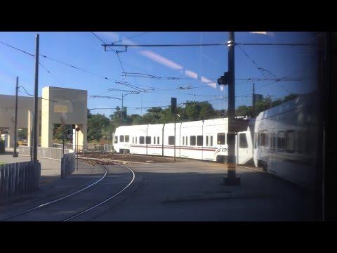 Valley Transportation Authority HD 60 FPS: Riding VTA Light Rail (Alum Rock-Tamien) 7/29/15