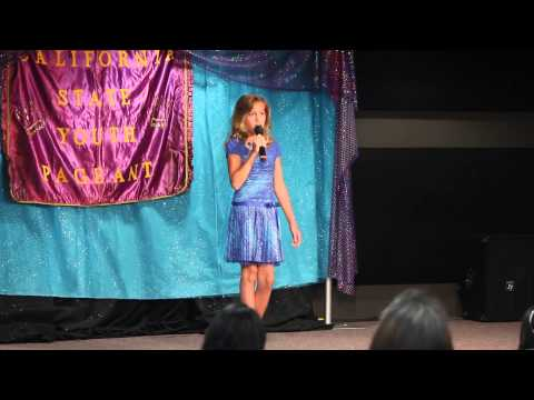 Alexandria, 10 yrs. old singing Strong from Cinderella (Cover)