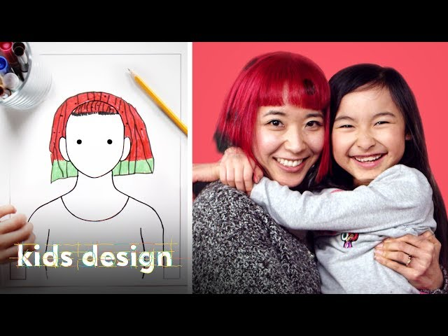 Kids Give Their Parents a Wild New Hairstyle | Kids Design | HiHo Kids