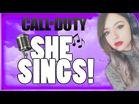OMG Female! She Sings #6 BLACK OPS 2