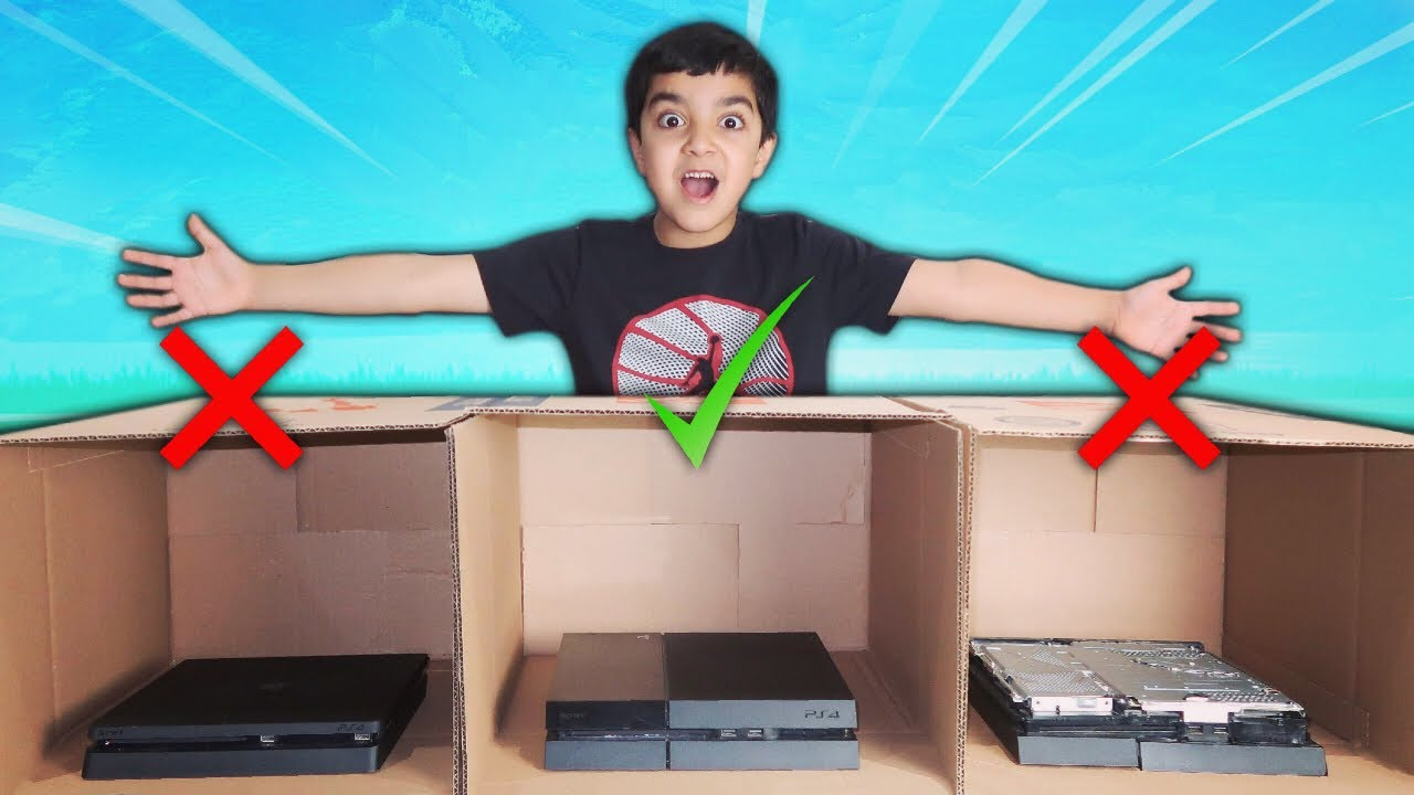 dont-destroy-the-wrong-ps4-mystery-box-challenge-kid-must-pick-mystery-box-if-he-loses-in-fortnite