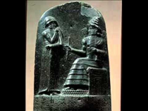 Curiosidades del Mundo Antiguo Hammurabi rey de Babilonia