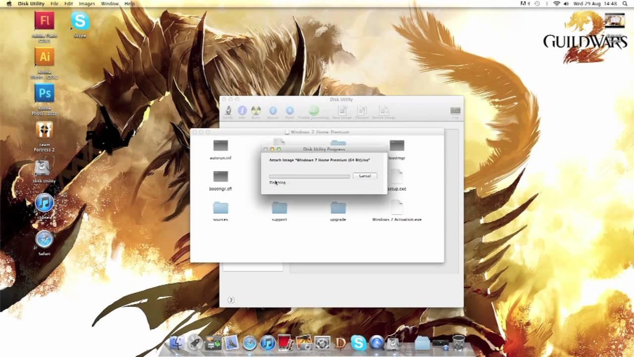 USB setup with Windows