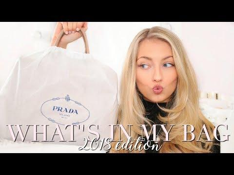 WHAT'S IN MY BAG 2018 & NEW DESIGNER BAG REVEAL! ~ Freddy My Love