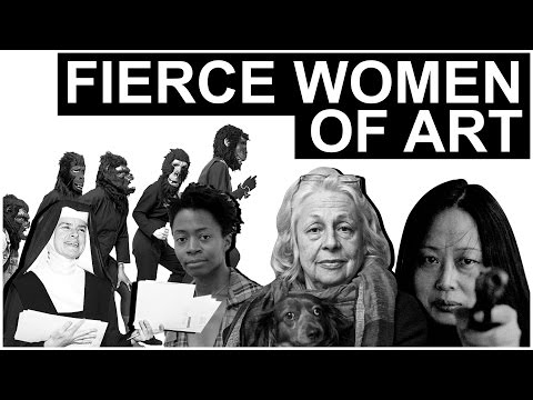 Fierce Women of Art | The Art Assignment | PBS Digital Studios