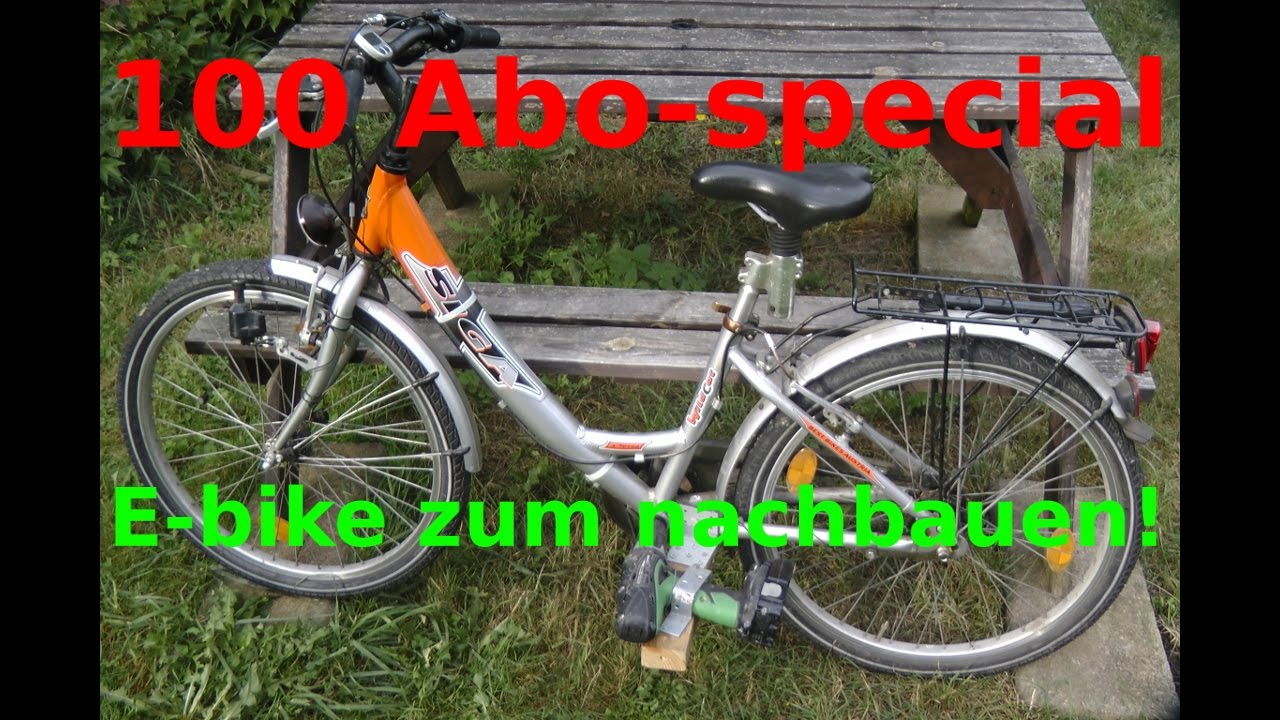 e bike zum selber bauen l 100 abo special l all stuff. Black Bedroom Furniture Sets. Home Design Ideas