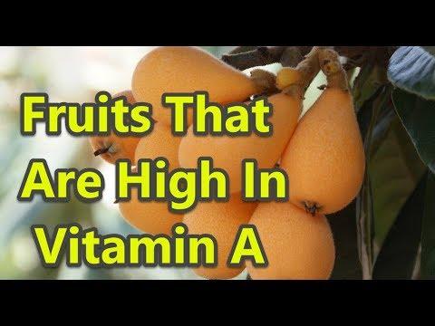 Top 10 Fruits Rich In Vitamin A