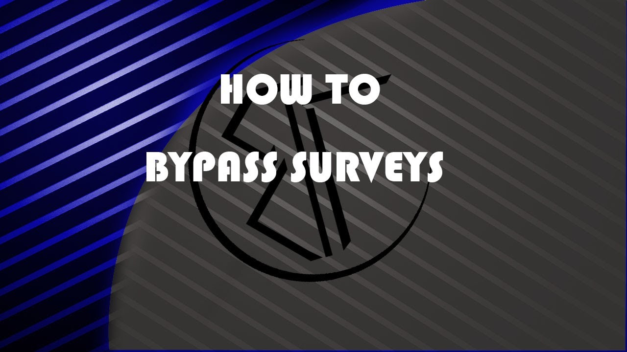 how to skip surveys for downloads