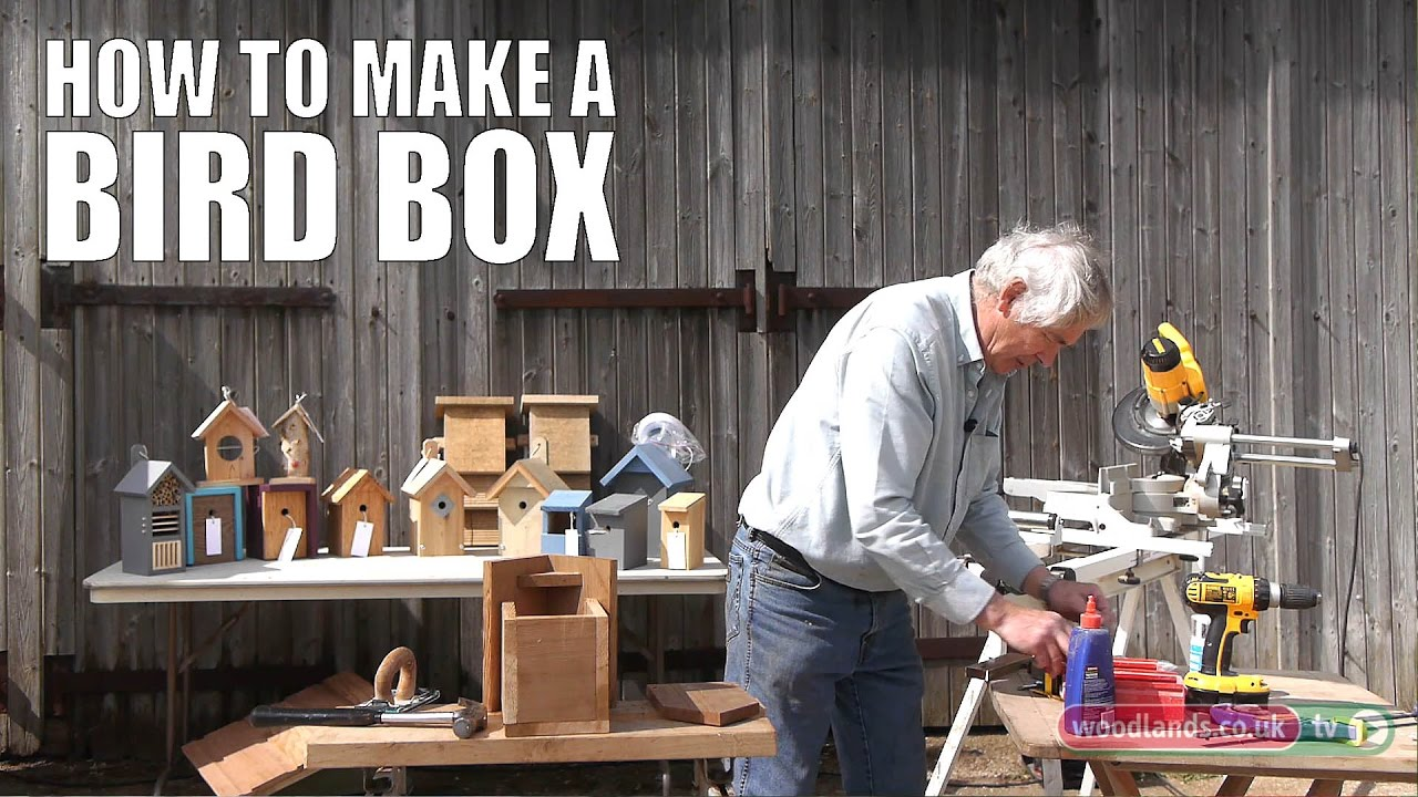 How To Make A Bird Box Youtube