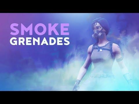 SMOKE GRENADES (Fortnite Battle Royale)