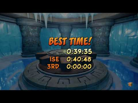 Crash Bandicoot 2: N. Sane Trilogy - Snow Biz - 0:39.35