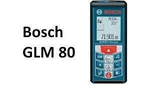 видео лазерный дальномер glm 80 professional