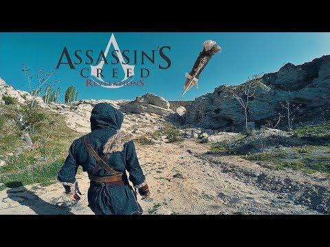 ASSASSİN'S CREED FAKE ASSASSİN'İN PEŞİNDE KONYA GERÇEK HAYAT (POV PARKOUR)