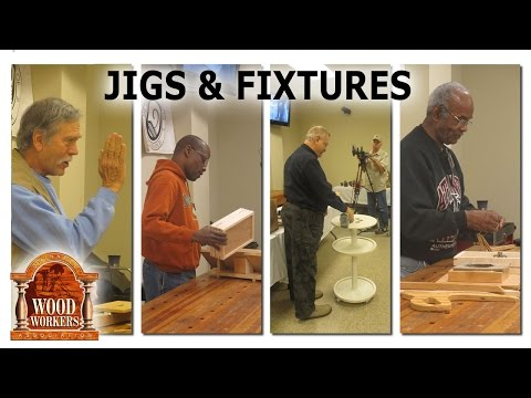 Jigs and Fixtures, by GWA members