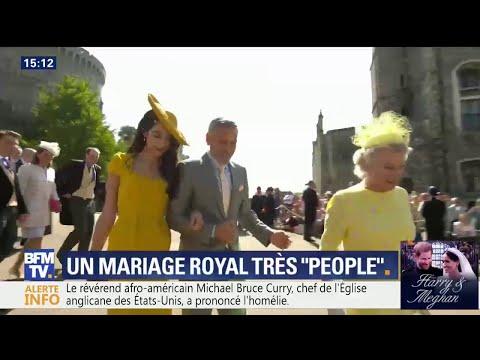 George Clooney, le couple Beckham… le mariage très people du prince Harry et Meghan Markle