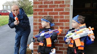 Nerf War : Payback Time 17 (Secret Rescue Mission)