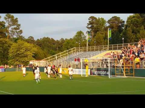 NCFC goal vs charlotte