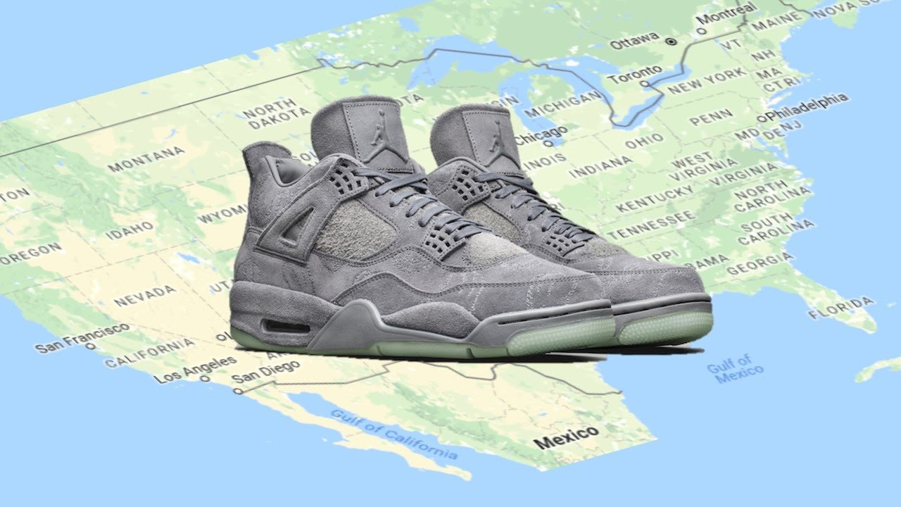 Update new images of the air jordan 4 royalty releasing in - Air Jordan 1 High Og Royal Air Jordan 4 Kaws Release Map More