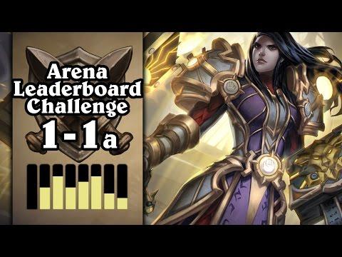 Hearthstone: Arena Leaderboard Challenge 1-1 - Goonadin - Part 1 (Paladin Arena)