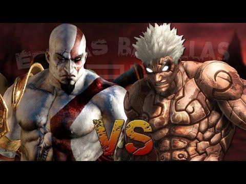 Kratos vs Asura. Épicas Batallas de Rap del Frikismo T2 | Keyblade