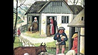 Средневековая деревня.  История 6 класс