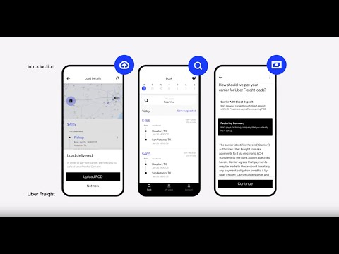 How to use the Uber Freight App