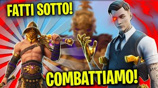 LA BATTAGLIA FINALE TRA MIDA E MENACE - Fortnite