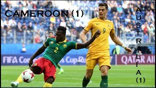 Cameroon 1-1 Australia #CAMAUS Memes Confederaciones Rusia 2017 AUSTRALIE CAMEROUN