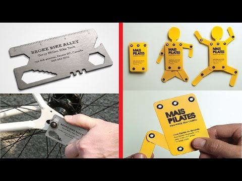 Most Creative Business Card Designs And Ideas Ever Seen