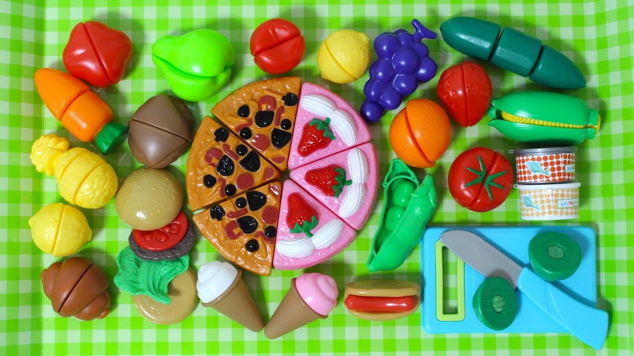 Just Like Home Toy Food : Just like home playset pizza party set deluxe slice and
