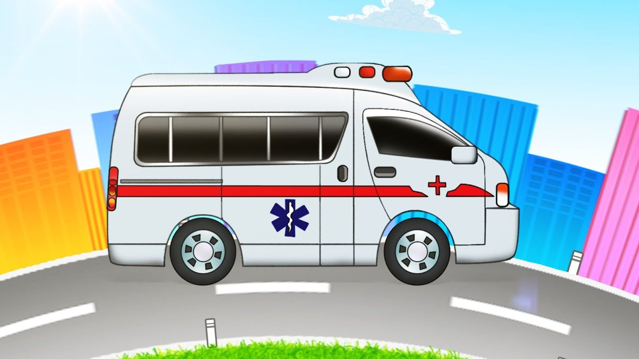 Ambulance | Formation and Uses | transport for kids | kids videos | learn transport
