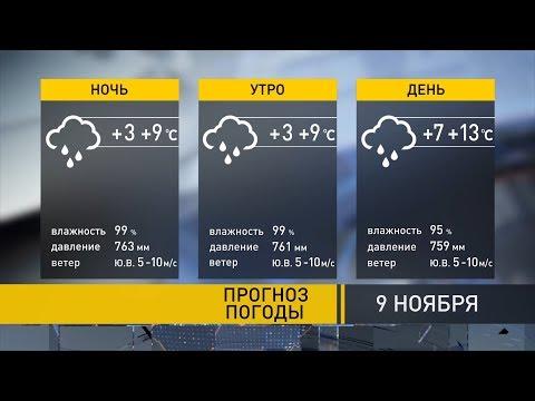 Прогноз на ближайшие дни: теплая погода сохранится