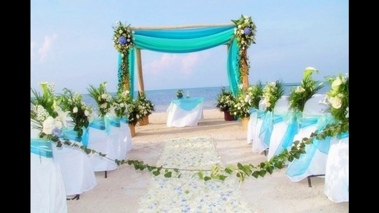 Awesome wedding home decoration ideas youtube for Wedding home decoration ideas