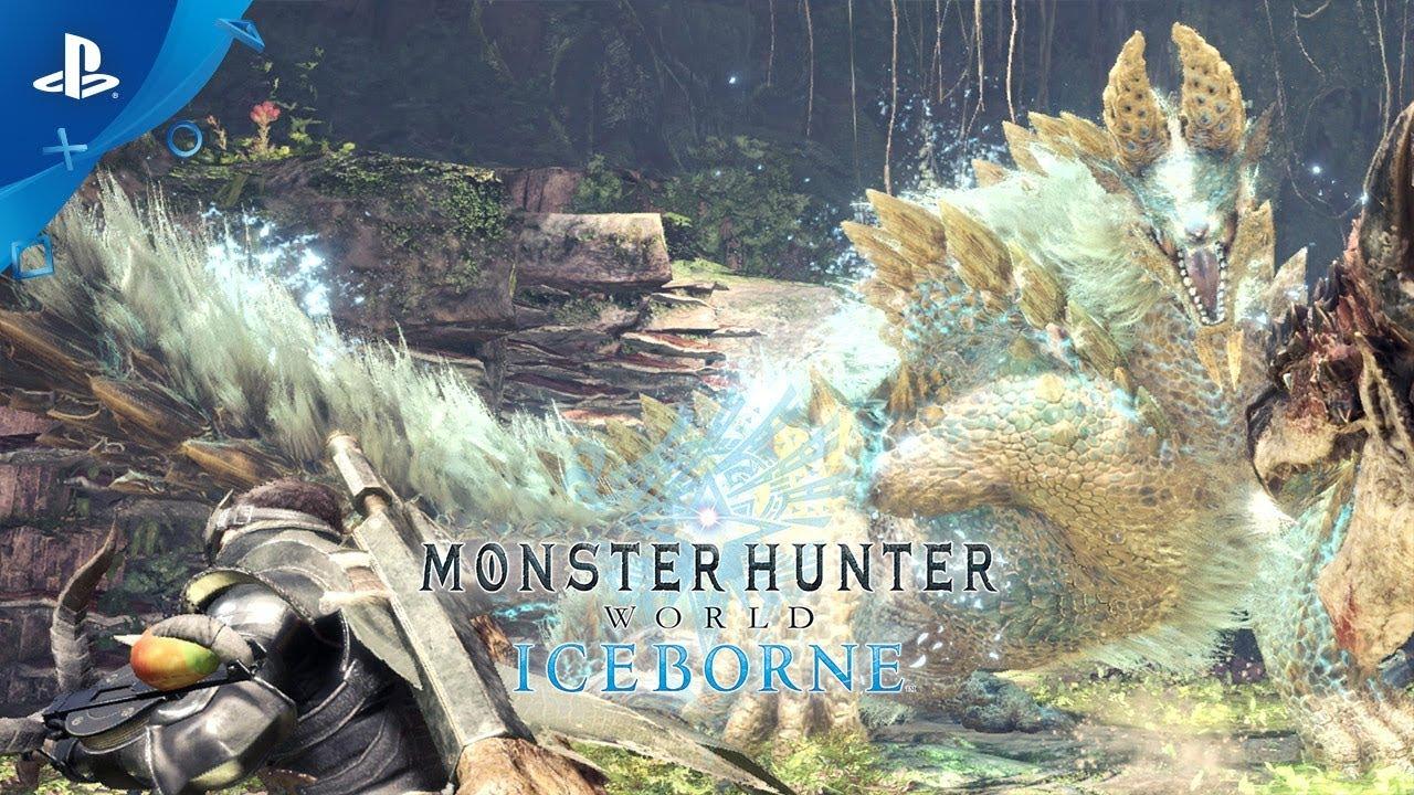 Monster Hunter World: Iceborne - Zinogre Trailer | PS4