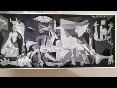 Picasso, l'engagement politique : analyse d'oeuvre : Guernica