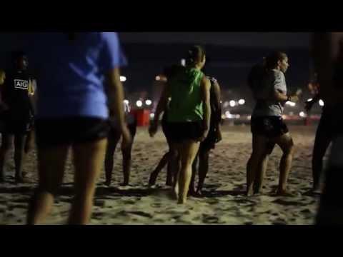 Women's Sevens players hit Rio